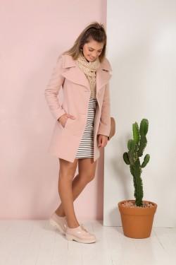 casaco de lã 3/4 tita catita