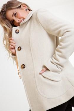 casaco de lã tita catita