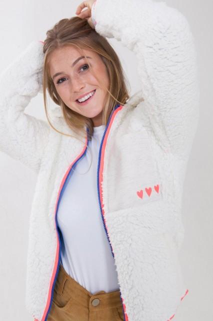 casaco fluffy