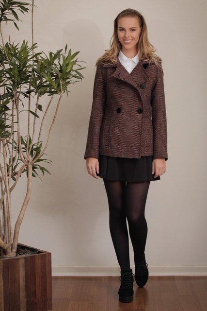 casaco lã tita catita