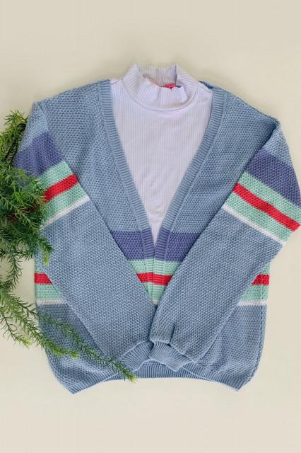 casaco tricô