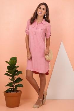 vestido chemise tita catita