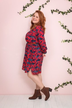 vestido florô